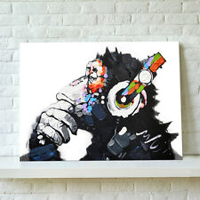 Unframed Canvas Prints Modern Home Decor Wall Art Picture-DJ MONKEY Chimp