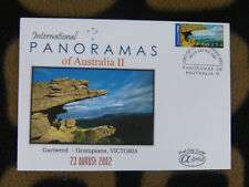 SCARCE ALPHA FIRST DAY COVER - 2002 AUSTRALIAN PANORAMAS II. GARIWERD