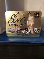 Elvis Trivia Game