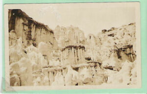 RPPC The Pulpit, Yellowstone Park, Wyoming**
