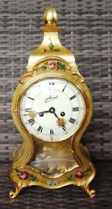 Vintage Schmid + große Kamin Uhr + Pendel Uhr