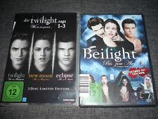 DVD Twilight Box 1-3 Twilight New Moon Eclipse + Beilight Biss zum Abendbrot