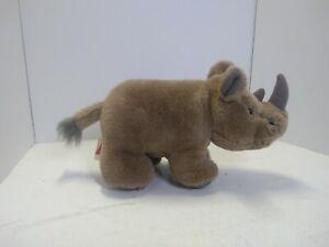 "Dakin 12"" Rhino Rhinoceros Plush"
