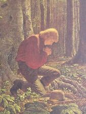 """ARNOLD FRIBERG -""""THE PRAYER IN THE GROVE"""" - LIMITED EDITION PRINT S/N"""