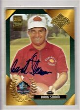 2003 Topps Hall of Fame Hank Stram Autograph Auto Chiefs HOF SP