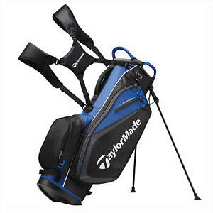 TaylorMade Select Stand Bag 2019 - BLACK/BLUE
