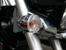 Par De 2 Suzuki Cruiser Transparente indicadores vl1500 M109r M109 Marauder +