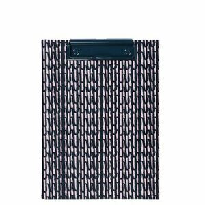 Clipboard with pad folder A5 Navy Scribble Padfolio - Paperchase (3677)
