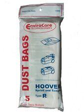15 Hoover Type R Sprint, Tempo, Allergy Vacuum Bags, Sprint, Tempo, Hornet, Port