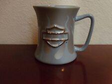 Harley-Davidson Light Blue Flames Cup/Mug