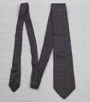 """Oscar De La Renta Red Speckled Blue Black Silk Men's Tie 57"""""""