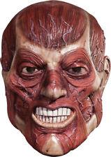 Morris Costumes Men's Latex Horror Halloween Skinner Over Head Mask. RU4240