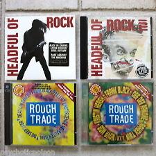 HEADFUL OF ROCK Vol 1 & 2 + MUSIC FOR THE 90's Vol 5 & 6 insges. 6 CDs  neu MINT