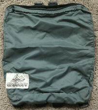 Vintage Gregory Accessory Pocket for Backpack Add on USA Grey