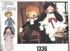 Little Vogue Sewing Pattern 1336, Vintage Doll and Clothes, Size 81.5cm, Uncut