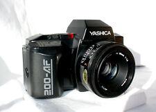 YASCHICA 200-AF con YASHICA LENS AF 50mm 1: 1,8