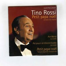 CD SINGLE (NEUF)TINO ROSSI PETIT PAPA NOEL (VERSION ORIGINALE REMASTERISEE)