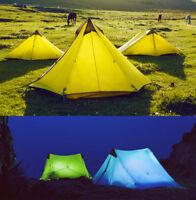 New LanShan 2 3F UL GEAR 2 Person Outdoor Ultralight Camping Tent 3 Season HOT