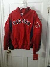 Boston Red Sox MLB baseball coat Majestic Red Authentic Collection Jacket  Large