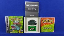 Gameboy Advance POKEMON Leaf Green Version Wireless Adapter GENUINE GBA PAL