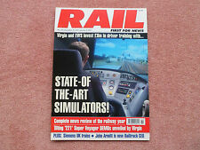 RAIL Issue 425 - in very good condition - Review of the Year + Train Simulators