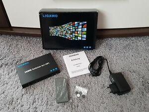 LIGAWO HDMI Switcher 4x1 inkl. Fernbedienung - WIE NEU