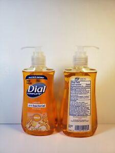 4-PACK!!  NEW Dial Complete Liquid Hand Soap & Wash, Gold, 7.5oz Pump Bottle