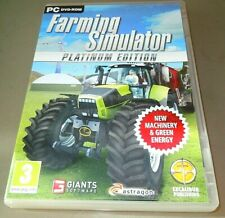 Farming simulator 2011 PLATINUM edition   - uk  Version ORIGINAL -  VGC