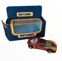 Vtg Matchbox Superfast MB-49 Peugeot Quasar Maroon MIB Diecast Toy Car Retro (s