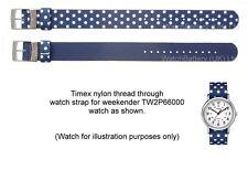 Genuine Timex Reversible Watch Strap for TW2P66000 Weekender Timex Watch