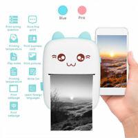 Mini Portable Thermal Printer Photo Pocket Photo Printer Printing Wireless