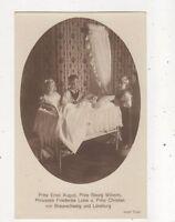 Ernst August Georg Wilhelm Frederike Luise Braunschweig RP Postcard Germany 022b