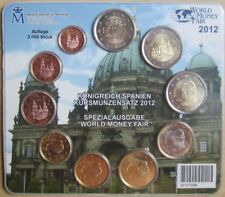 Spanien KMS Kursmünzensatz 2012 World Money Fair in Berlin