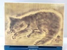 """Petit Chat"" by Foujita,  TSUGOUHARA FOUJITA, Collectible Print on Board"