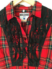 shirt camicia woman MOSCHINO JEANS made in italy  tg M