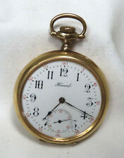Jewel Gold Filled Pocket Watch # 930512 Antique E Howard Watch Co Boston 17