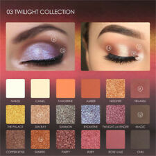 Pro18Color Mixed Pearlescent Matte Pearlized Glitter EyeShadow Textured Pallette