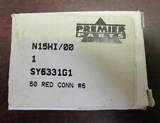 SMH PREMIER PARTS N15HI 00 SY6331G1 50 Red #6 Battery Connector