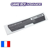 Sticker GAME BOY ADVANCE Label Nintendo GBA Coque