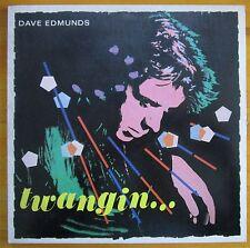 Dave Edmunds Twangin 1981 Vinyl-LP Record Swan Song SS 16034