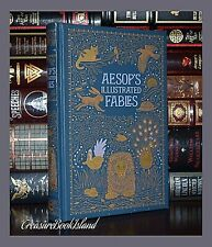 Aesop's Fables Aesop Illustrated By A. Rackham Sealed Leather Bound Collectible