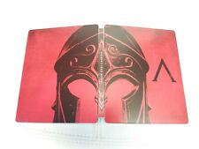ASSASSINS CREED ODYSSEY PANTHEON EXCLUSIVE STEELBOOK CASE. NO GAME INCLUDED
