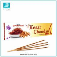 Devdarshan Kesar Chandan Flora/Masala Agarbathies, 50g (Pack of 4)  With FSS