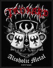 TANKARD - Alcoholic Metal - Woven Patch / Aufnäher