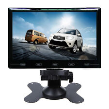 "Ultra Thin 7"" HD 800*480 TFT LCD Color 2-CH Input Car Rear View Headrest Monitor"