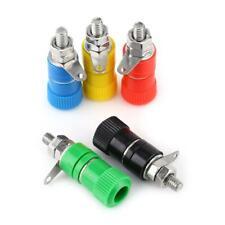 20pcs 4mm Binding Post Terminal Speaker Test Plug Socket Connector 5 Colors