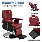 Height Adjustable Recline Barber Chair with Hydraulic Pump for Hair Cutting SPA