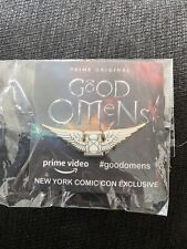 Amazon Prime Video Original Good Omens Pin NYCC 2018 Exclusive New York Comic