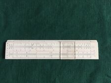 VINTAGE LEAR INC. 6-INCH SLIDE RULE NO. 601 - DIWA DENMARK - ORIG. LEATHER CASE