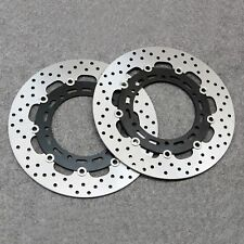 Front Brake Disc Rotor Fit For Yamaha YZF R6 1999-2002 YZF R1 1998-2003 XJ600 N